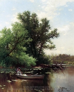 Drifting painting reproduction, Alfred Thompson Bricher