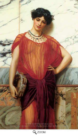 Painting Reproduction of Drusilla, John William Godward