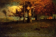 Early Autumn, Montclair painting reproduction, George Inness