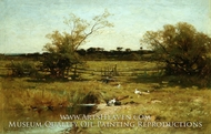 East Hampton Meadows by George Henry Smillie