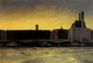 East River painting reproduction, Edward Hopper