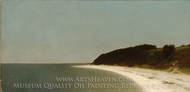 Eaton's Neck, Long Island painting reproduction, John Frederick Kensett