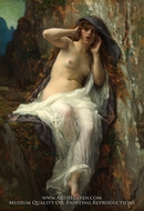 Echo painting reproduction, Alexandre Cabanel