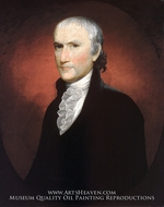 Egbert Benson painting reproduction, Gilbert Stuart