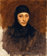 Egyptian Woman painting reproduction, John Singer Sargent