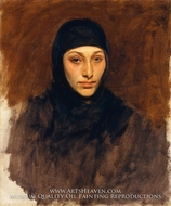 Egyptian Woman by John Singer Sargent