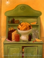 El Aparador painting reproduction, Fernando Botero