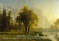 El Capitan, Yosemite Valley by Albert Bierstadt