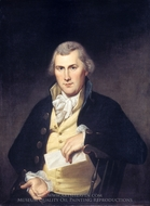 Elie Williams painting reproduction, Charles Willson Peale