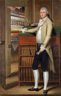 Elijah Boardman painting reproduction, Ralph Earl