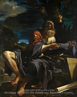 Elijah Fed by Ravens by Guercino