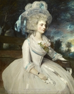 Elizabeth, Countess of Warwick painting reproduction, Sir Joshua Reynolds