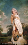 Elizabeth Farren by Sir Thomas Lawrence