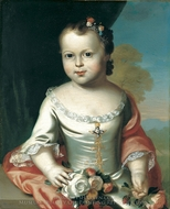 Elizabeth Greenleaf painting reproduction, John Singleton Copley