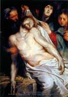 Entombment painting reproduction, Peter Paul Rubens