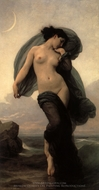 Evening Mood (La Crepuscule) painting reproduction, William Adolphe Bouguereau
