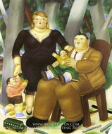 Family by Fernando Botero