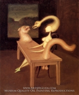 Fascination painting reproduction, Victor Brauner