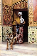 Favourite Tiger painting reproduction, Rudolph Ernst