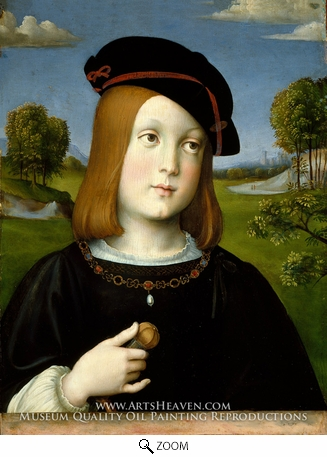 Painting Reproduction of Federigo Gonzaga, Francesco Francia