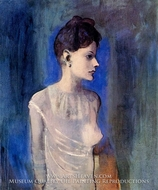 Femme a la Chemise by Pablo Picasso (inspired by)