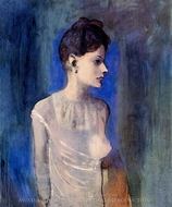 Femme a la Chemise painting reproduction, Pablo Picasso (inspired by)