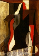 Femme Assise dans un Fauteuil by Pablo Picasso (inspired by)