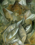 Fishing Boats painting reproduction, Georges Braque