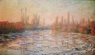Floating Ice painting reproduction, Claude Monet