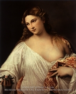 Flora painting reproduction, Titian