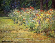 Flower Border by John Ottis Adams