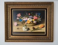 Flower Still Life painting reproduction, Ambrosius Bosschaert