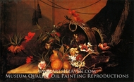 Flowers and Fruit painting reproduction, Jean Baptiste Monnoyer