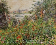 Flowers at Vetheuil by Claude Monet