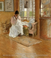 For the Little One painting reproduction, William Merritt Chase
