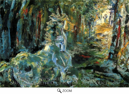 Painting Reproduction of For the Road, Jack Butler Yeats