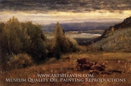 From the Sawangunk Mountains by George Inness