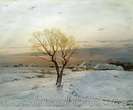 Frosty Morning by Nikolay Dubovskoy