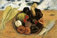 Fruit of the Earth painting reproduction, Frida Kahlo