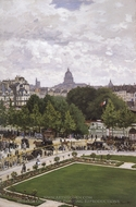 Gardens of the Princess painting reproduction, Claude Monet