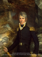 General Andrew Jackson painting reproduction, John Wesley Jarvis