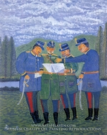 General Stafff Headquarters painting reproduction, Pavel Biro