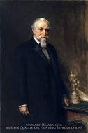 George A. Hearn by Irving Ramsey Wiles