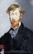 George Moore by Edouard Manet