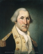 George Washington painting reproduction, Charles Peale Polk