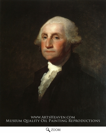 Painting Reproduction of George Washington, Gilbert Stuart
