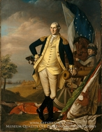 George Washington painting reproduction, James Peale