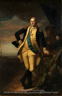 George Washington at Princeton painting reproduction, Charles Willson Peale