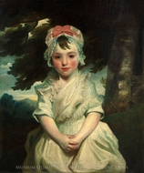 Georgiana Augusta Frederica Elliott, Later Lady Charles Bentinck painting reproduction, Sir Joshua Reynolds