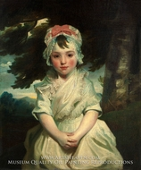 Georgiana Augusta Frederica Elliott, Later Lady Charles Bentinck by Sir Joshua Reynolds